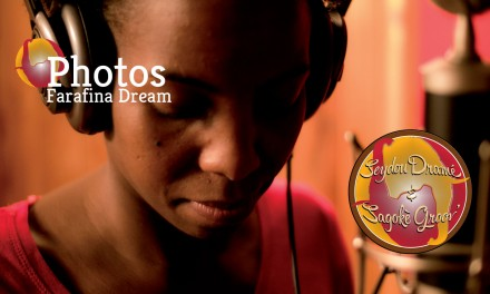 Farafina Dream-Enregistrement en studio